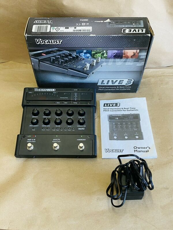 Vocalist Live 3- Fast Shipping !!