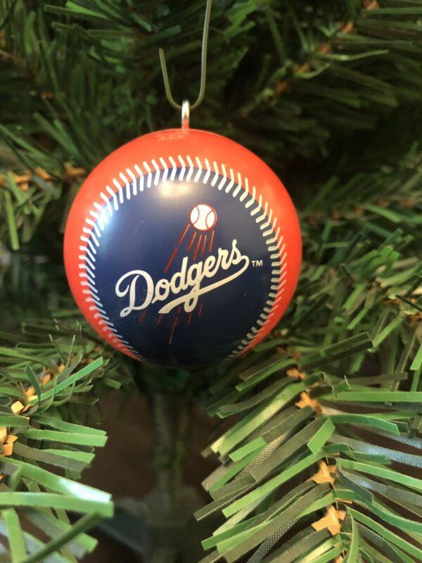 Los Angeles Dodgers Baseball Christmas Ornament!!