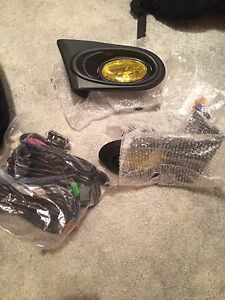 RSX Fog Light Kit with Stock Button