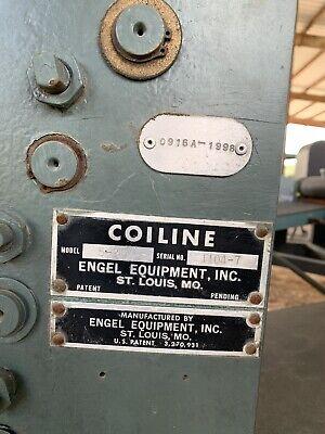 Engel Sheet Metal Decoiler And Shear To Length.