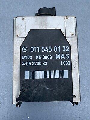 Mercedes SL R129 MAS ECU Module Relay Control Unit 0115458132 M103 Engine 300SL, used for sale  Shipping to Ireland