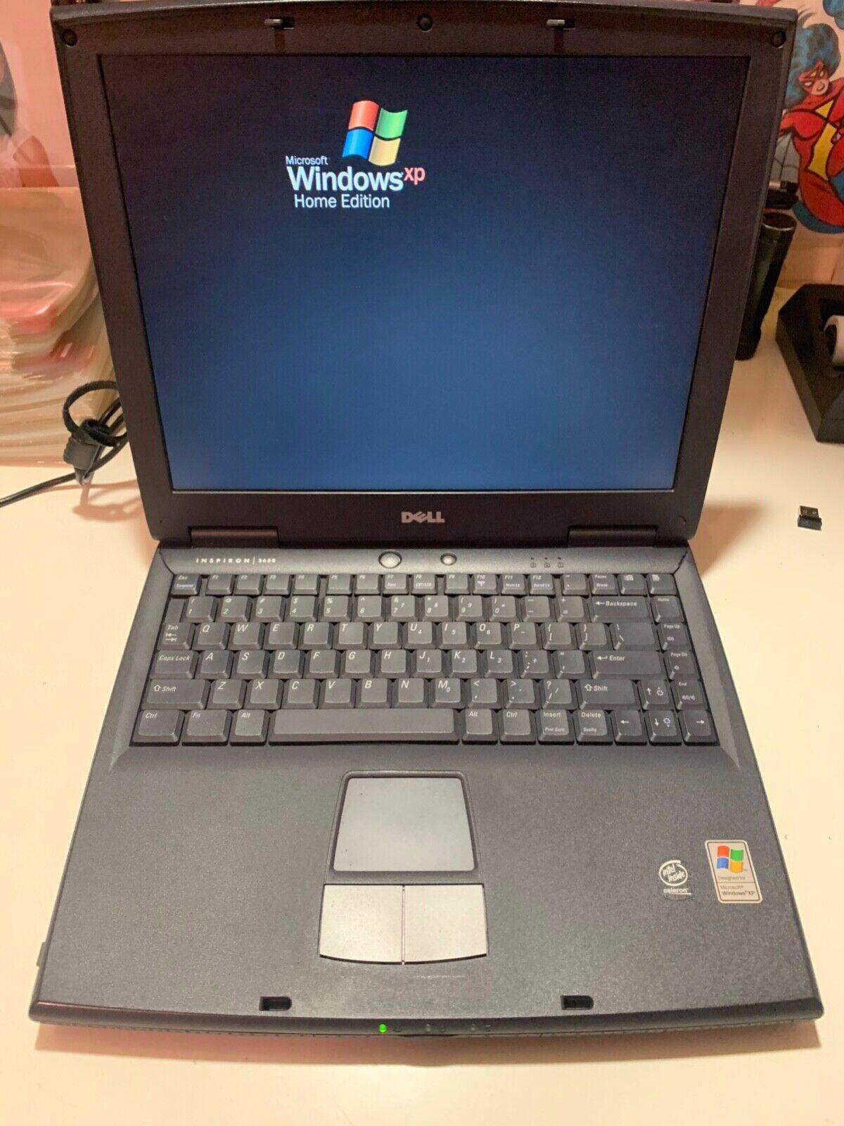 Laptop Windows - DELL  INSPIRON  2650  WINDOWS  XP  HOME EDITION LAPTOP