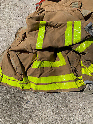 Firefighter Turnout Coat 40 Chest 30 Length 33 Sleeve