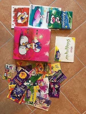 Riesige Diddel Sammlung Papier Tüten Karten Kalender Briefpapier