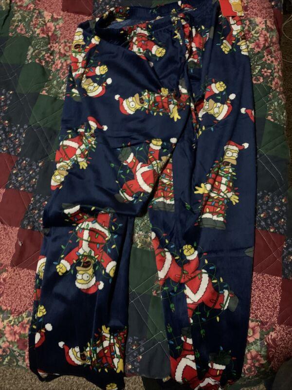 The Simpsons Mens Pajamas Size Large