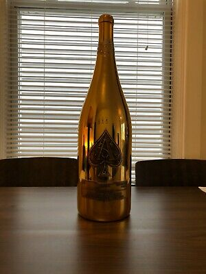 REHEBOAM ACE OF SPADES (ARMAND DE BRIGNAC) 4.5L EMPTY CHAMPAGNE BOTTLE