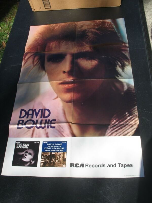 David Bowie Promo Poster 1972