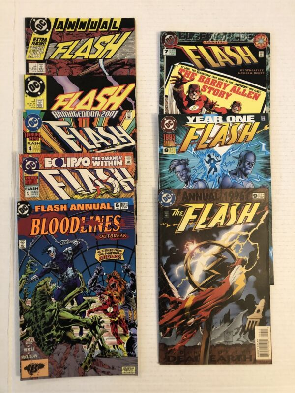 Flash Annual #2 - 9 Lot Of 8