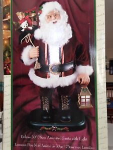 "DELUXE 30"" ANIMATED SANTA"