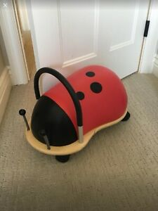 Lady bug with wheels