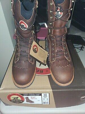 "Irish Setter Men's 83826 9"" Aluminum Toe Work Boot  size 10 damaged box"