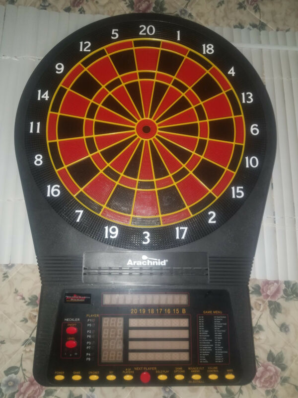Arachnid E800ARA Cricket Pro 800 Electronic Dartboard