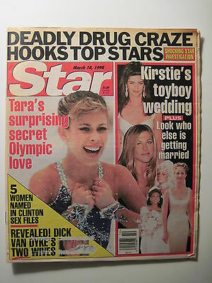 Star Magazine 3 10 1998  Tara Lipinski  Jennifer Anniston  Life After Love Boat