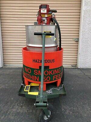 General Atomics Ugc92201-2 Fuel Servicing Cart With Fill-rite Series 800c Meter
