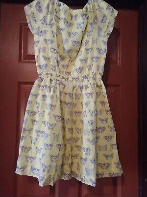 Gymboree girls butterfly dress size 14 - Girls Butterfly Dress