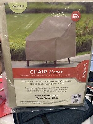Allen Patio Protectors Patio Furniture Chair Cover Weather & waterproof