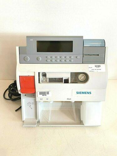 Siemens Bayer RAPIDLAB 248 pH/Blood Gas Analyzer With Warranty