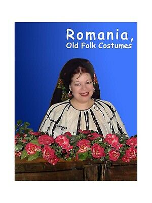 BOOK Romania Old Romanian Folk Costumes 48 color plates showing 100 costumes](Book Costumes)