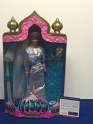 "Barbara Eden Signed ""I Dream Of Jeannie"" Fashion Doll 1997 Episode 124 PSA"