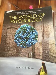 The world of psychology 8th edition Samuel e. Wood