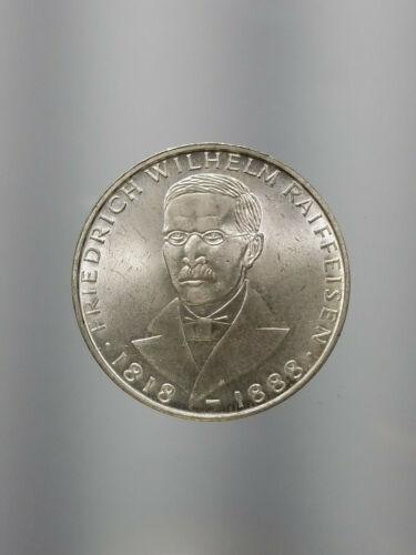 1968-F Germany 5 Mark ✶ Silver ✶ KM# 121