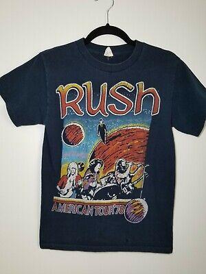 VTG Rush Concert Tour T-Shirt American Tour '78 Small