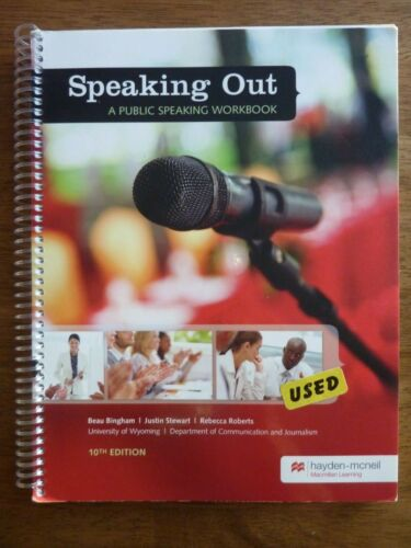 Speaking Out: A Public Speaking Workbook (University of Wyoming) 10th Edition