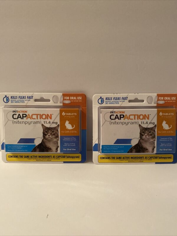 Flea Tick for Cats Oral Flea Killing Treatment 12ct Tablets Flea + FAST SHIPPING