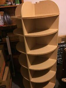 Solid bookshelf with 4 section in 360 degree Waverley Eastern Suburbs Preview