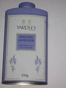 Yardley of London English Lavender Talcum Powder Perfumed Talc 250g