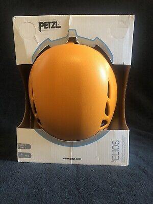 New Open Box - Petzl Elios Climbing Helmet - Orange - Size 1