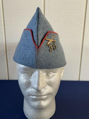 French WW2 WWII Authentic Garrison Cap 35 Artillery Regiment