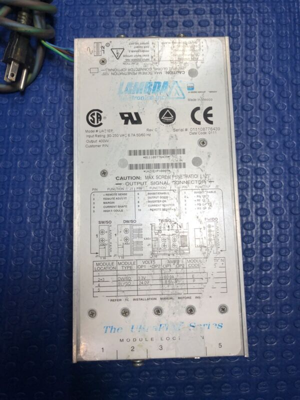 LAMBDA UAZ1EP 400W Power Supply - UltraFlex Series