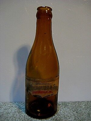 Vintage D.G. Yuengling And Sons Beer Bottle