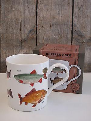 ion - Kaffee Becher / Tasse - Fische / Fisch - British Fish (Fisch-tasse)
