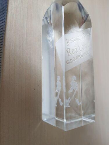 JOHNNIE WALKER rare original solid glass - Gift - Original - Rare - Bottle