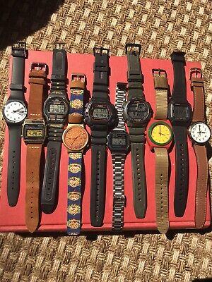 Swatch, Seiko, Casio, Timex, Nixon Watch Lot. NO RESERVE. DW290, A158W, Ironman