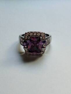 Purple crystal ring South Brisbane Brisbane South West Preview