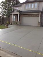 Concrete pads, Walkways, Driveways. save up to 50%