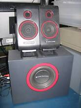 altec lansing vs2421 2.1 computer speakers cheapest set online Shailer Park Logan Area Preview