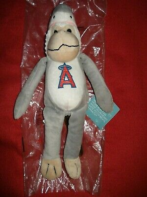 Shark Rally Monkey - Anaheim Angels Baseball - Los Angeles Angels of Anaheim MLB - Monkey Baseball