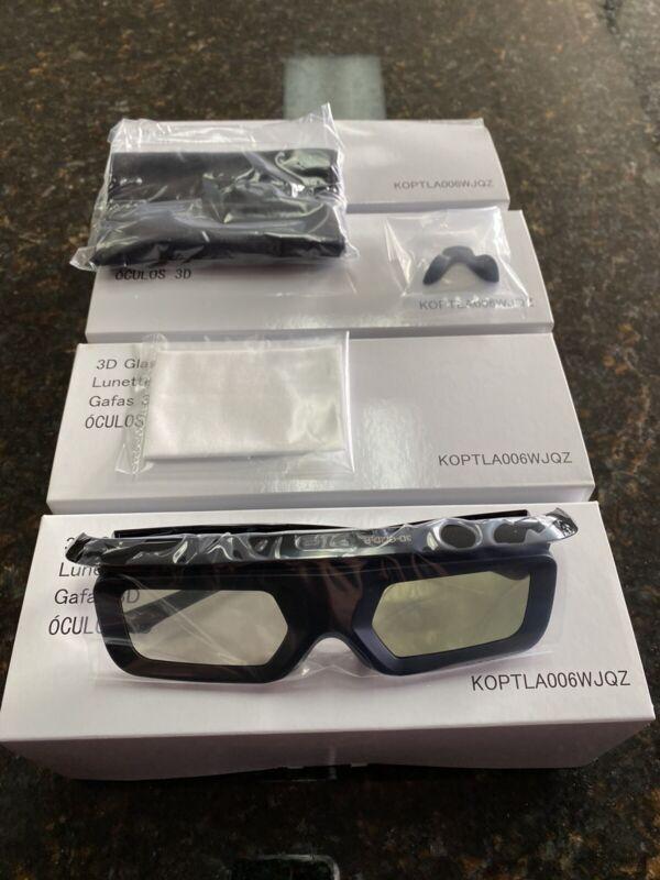 Pack Of Four 3D Glasses Sharp KOPTLA006WJQZ