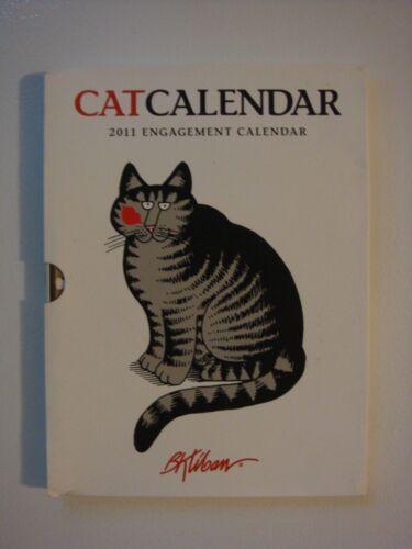 Pomegranate B.Kliban 2011 Collectible Cat Engagement Calendar Datebook   REDUCED