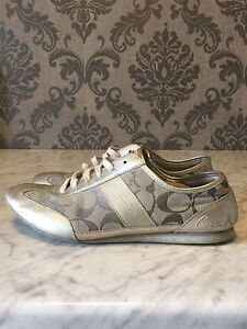 Coach running shoes size 8.5