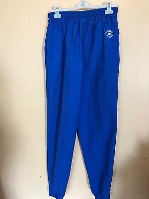 Vintage Chuck Taylor Converse Men's Athletic Pants Sz Lg made in USA thin nylon