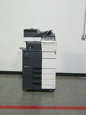 Konica Minolta Bizhub C558 Color Copier - Only 150k Copies - 55 Page Per Minute