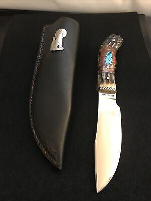 JAY HENDRICKSON MS CUSTOM D.P. HUNTER KNIFE- LOVELESS DESIGN