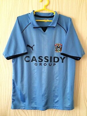 COVENTRY CITY FC ENGLAND 2006 2007 HOME FOOTBALL SOCCER SHIRT JERSEY  image