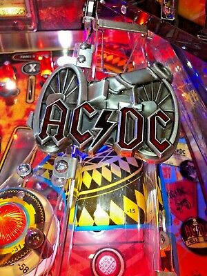 New ACDC AC/DC Stern pinball machine metal ramp Mod