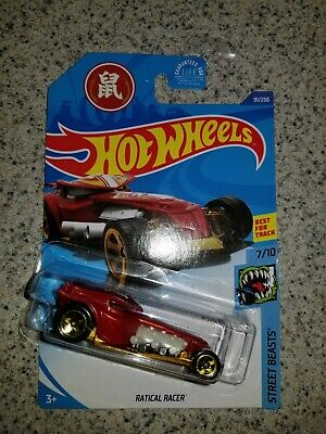 Hot Wheels ERROR  Ratical Racer